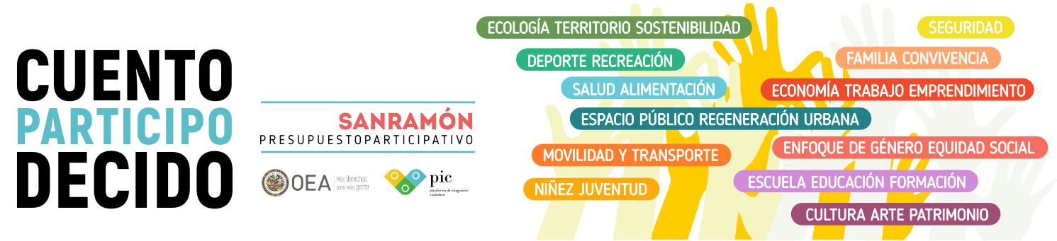 Presupuesto Participativo de San Ramón