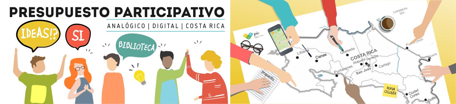 Presupuesto Participativo Digital - Costa Rica - Ágora PIC